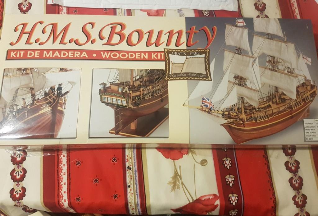 [VEND] Constructo Endeavour 1:60 et HMS Bounty 1:50 20201111