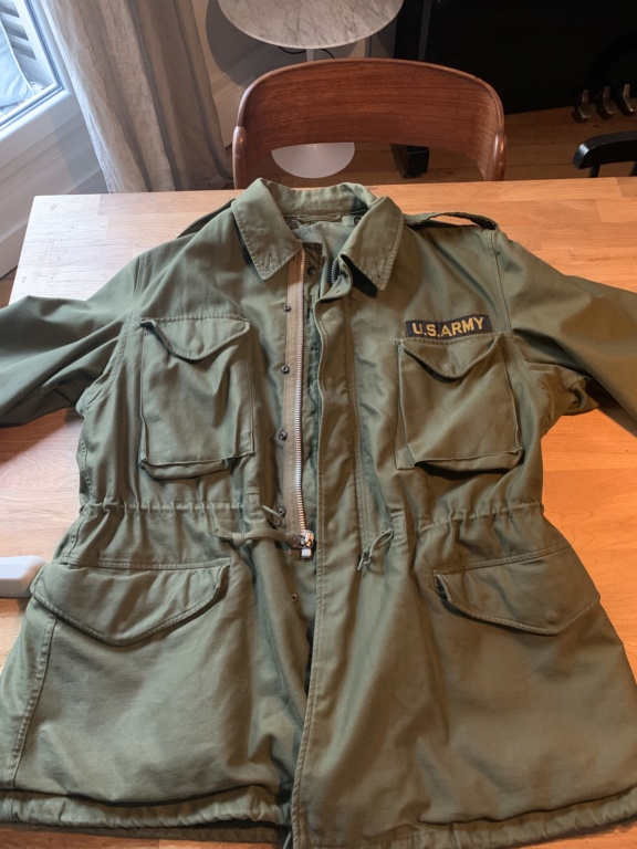 Datation field jacket m51 Us 86aff110