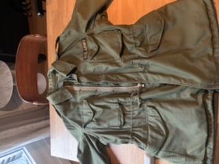 Datation field jacket m51 Us C3431610
