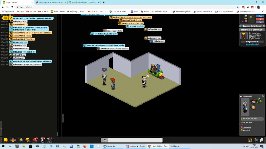 [P.N] Rapport de patrouille de KobaLaD33 Captur43
