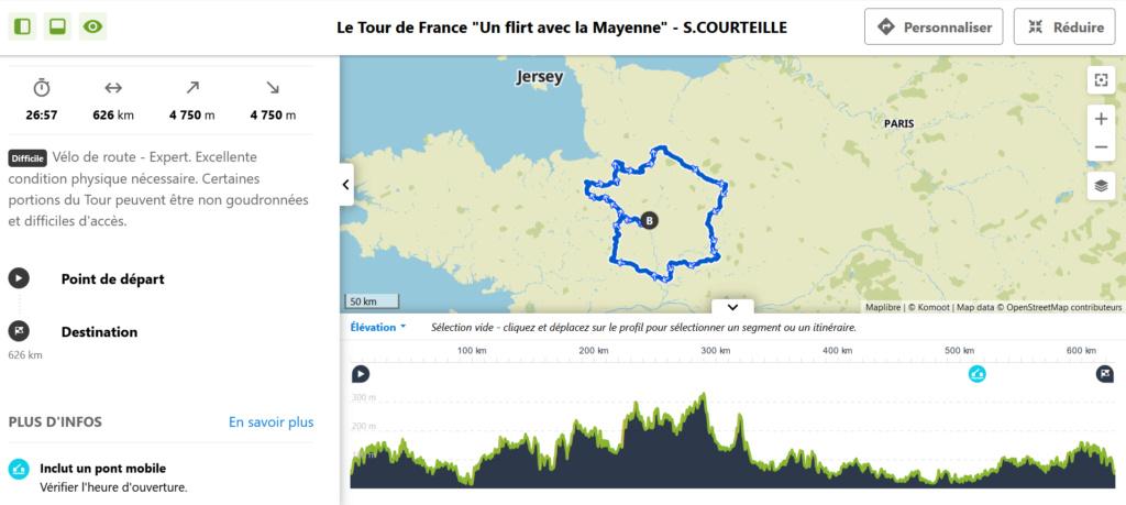 """Tour de France """"Un Flirt avec la Mayenne"""" (626 km) : 17 et 18 JUILLET Tour_d10"""