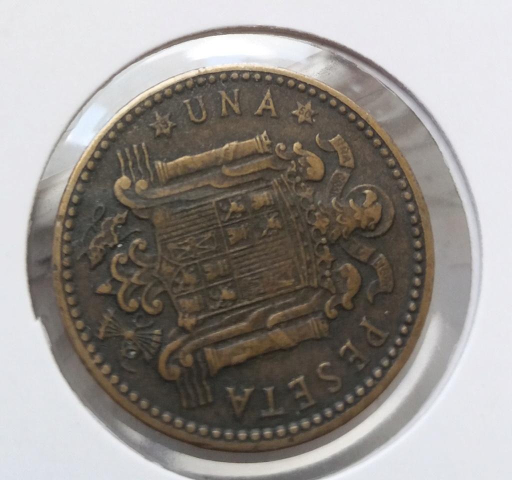1 peseta 1947 (*19-50). Estado Español 20200511
