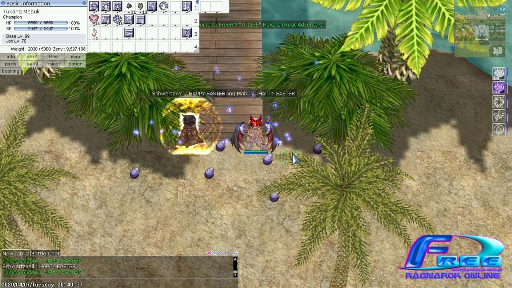 Event Screenshot Easter (Paskah) Whatsa10