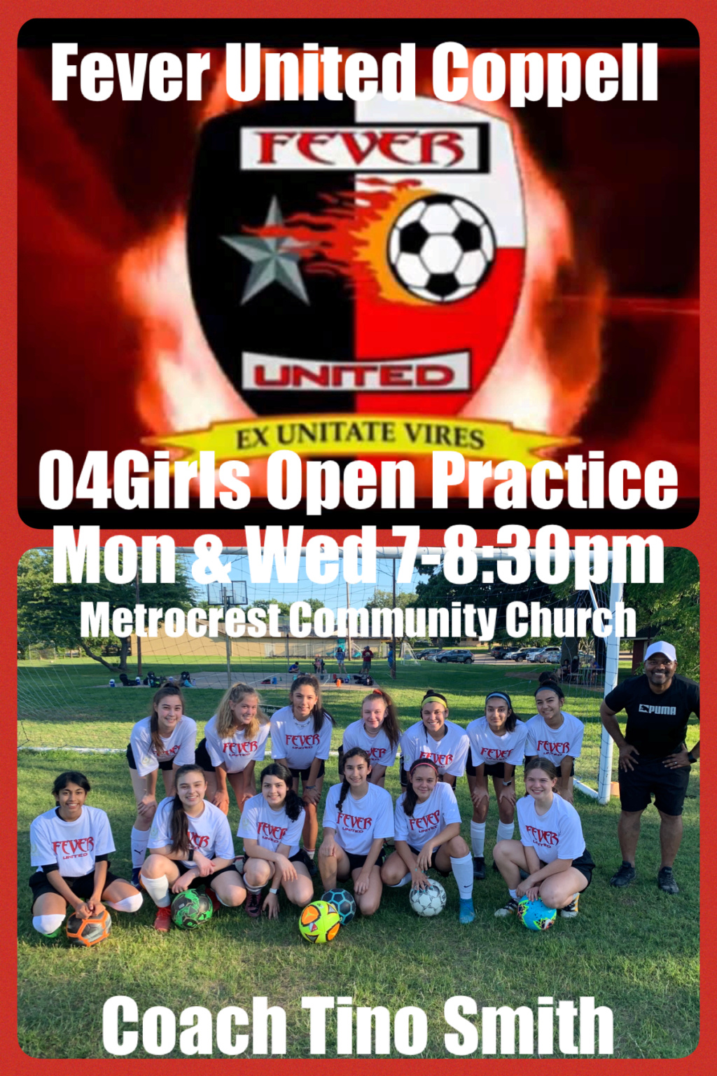 Fever United 04G Coppell Open Practice 76ba8c10