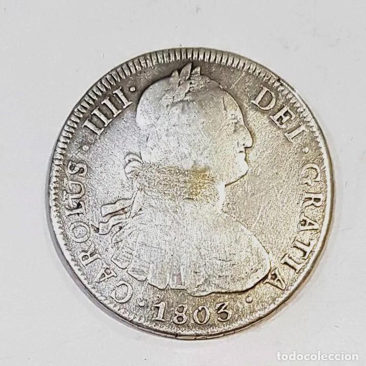 8 Reales Carlos IV 1803 Potosi PJ 21900512
