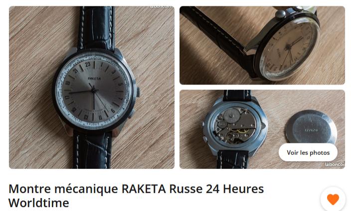 Avis sur deux RAKETA 24h Raketa11