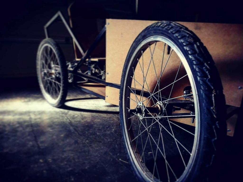 [Projet en cours] Cyclekart ! Une caisse à savon motorisée pour enfant 84718910
