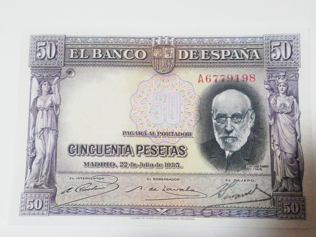 50 pesetas 1935 16030610