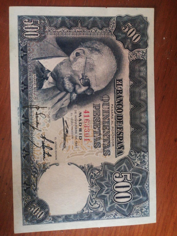 500 Pesetas 1951 (Mariano Benlliure) 16032710