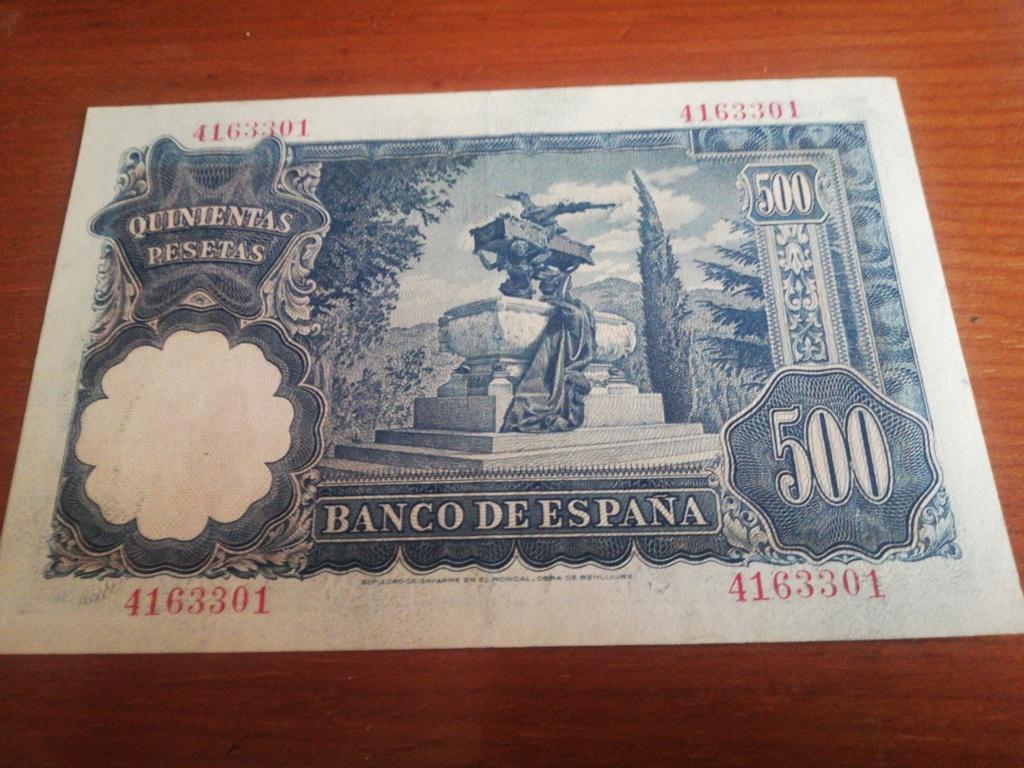500 Pesetas 1951 (Mariano Benlliure) 16032713