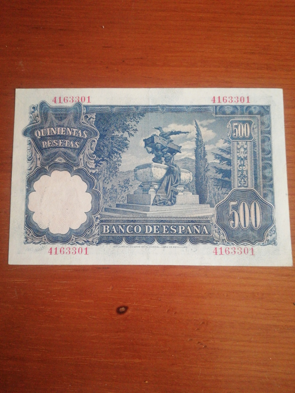 500 Pesetas 1951 (Mariano Benlliure) 16032714