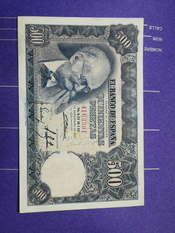 500 Pesetas 1951 (Mariano Benlliure) Img_2022