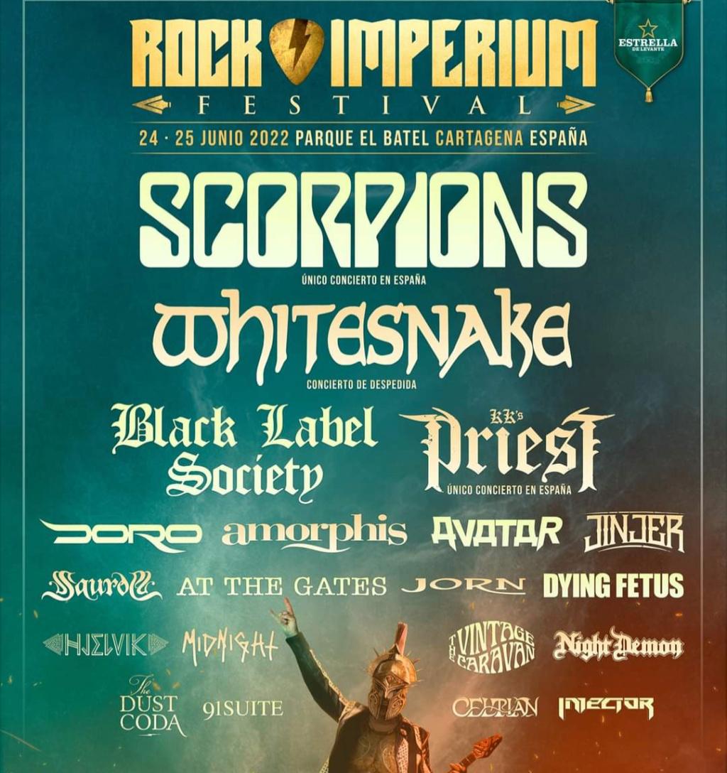 Rock Imperium Festival  24 y 25 de junio de 2022 en Cartagena (España)  Screen15
