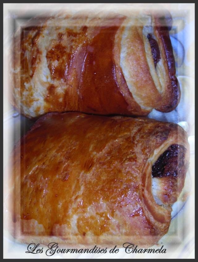 chocolat - Petits pains feuilletées au chocolat Dscn4412