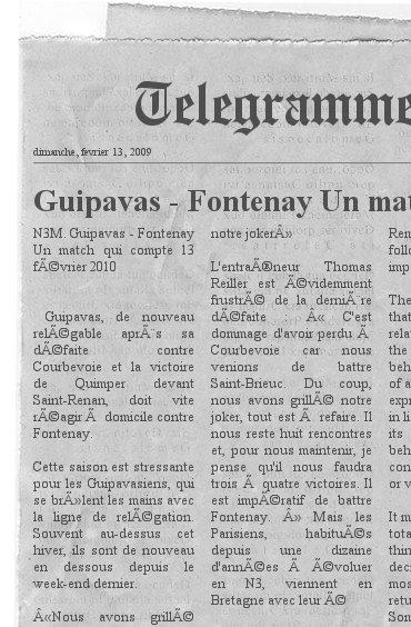 ARTICLES SUR LES JOUEURS ET CLUB DE FONTENAY Newspa10