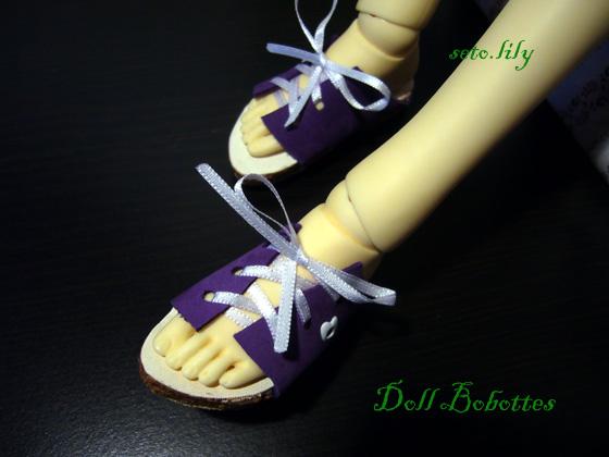 *Doll bobottes* devient doll Bootsie, chaussures poupées  - Page 2 Sandal10