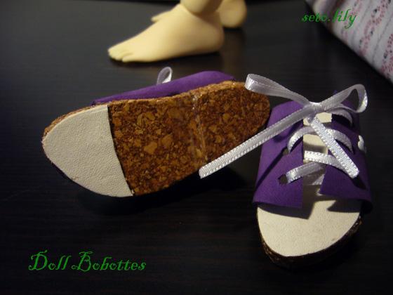 *Doll bobottes* devient doll Bootsie, chaussures poupées  - Page 2 Sandal11