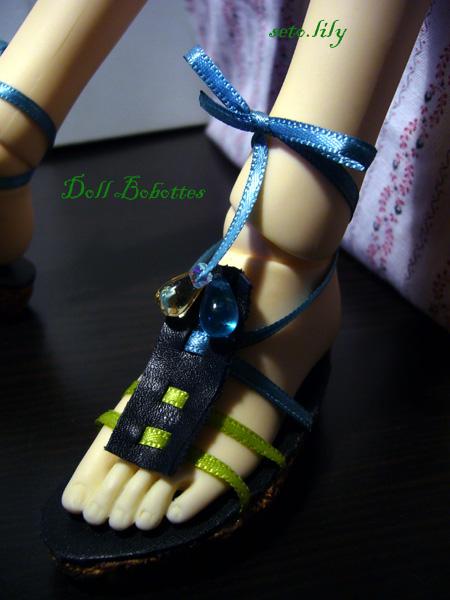 *Doll bobottes* devient doll Bootsie, chaussures poupées  - Page 2 Sandal13
