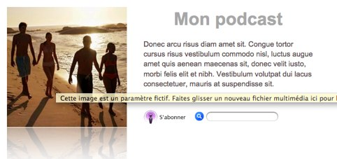 Description d'un podcast sur itunes Uuu10