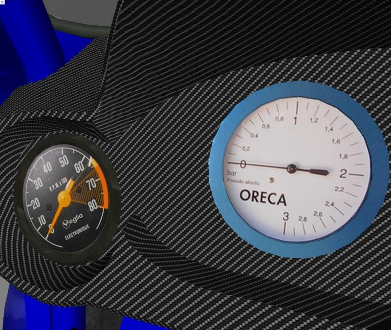 """[TERMINEE] SIMCA TURBO """"VONIC EDITION""""  reste les premiers tours de roues ! Tablea10"""