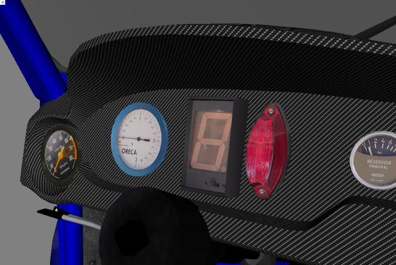"""[TERMINEE] SIMCA TURBO """"VONIC EDITION""""  reste les premiers tours de roues ! Tablea12"""