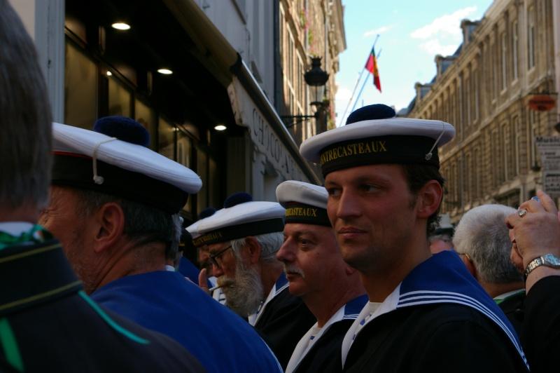 Le corps des torpilleurs et marins, lors de la Manneken-pils Copie_11