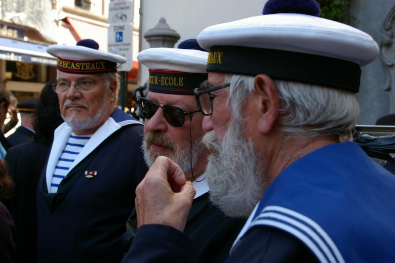 Le corps des torpilleurs et marins, lors de la Manneken-pils Copie_12