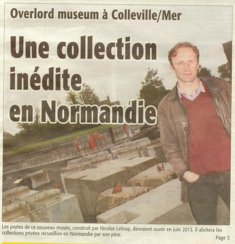 Nouveau musée à Colleville sur Mer Musae113
