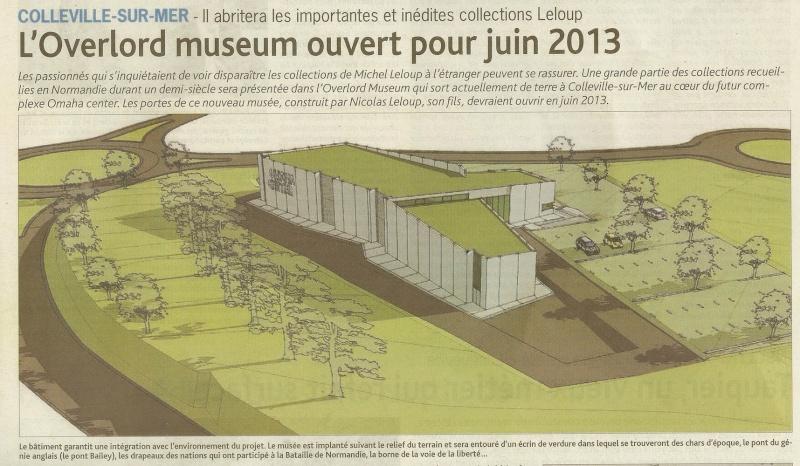 Nouveau musée à Colleville sur Mer Musae213