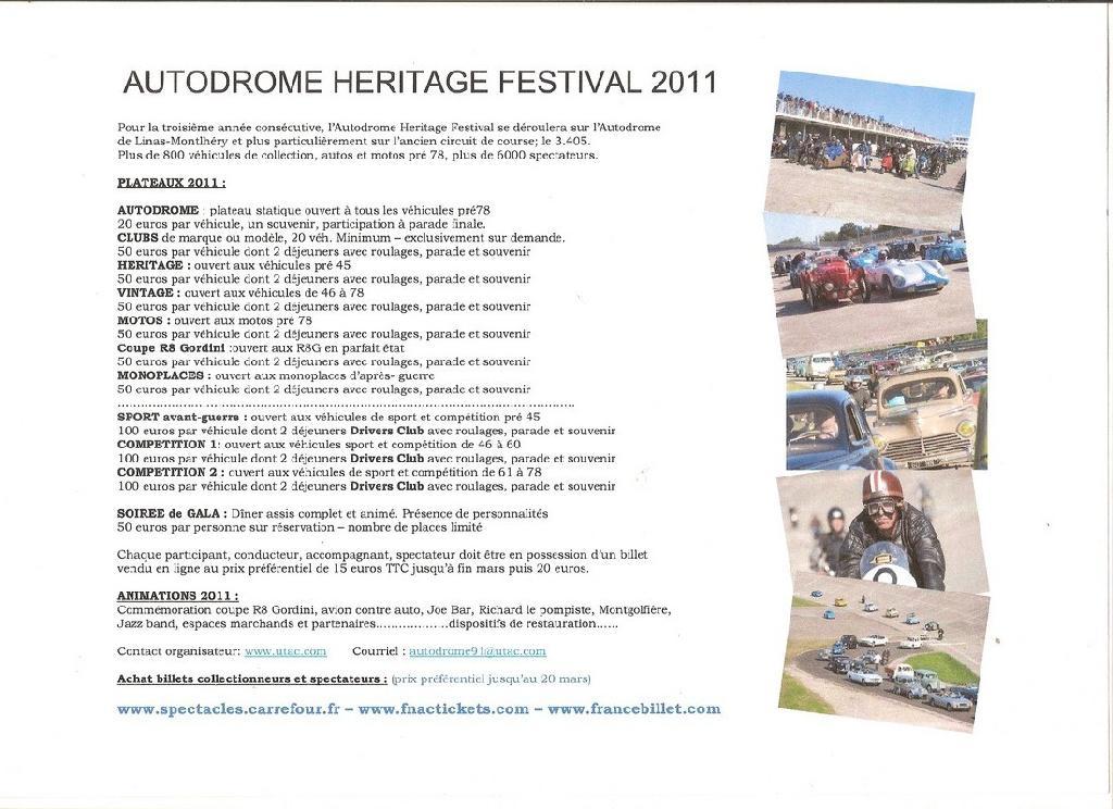 Montlhéry héritage festival 2011 Monthe11