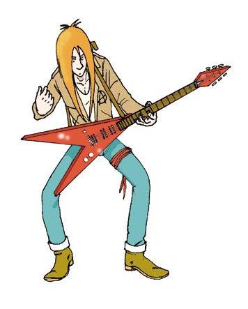 Oliver chanteur de Blues Guitar10
