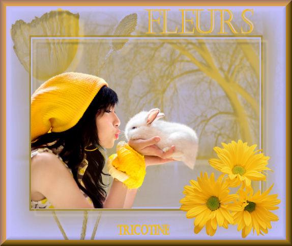 galerie de tricotine Fleurs10