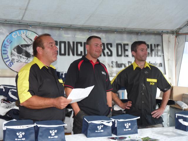 Compte rendu du concours silure du 15 septembre 2012 Conco125