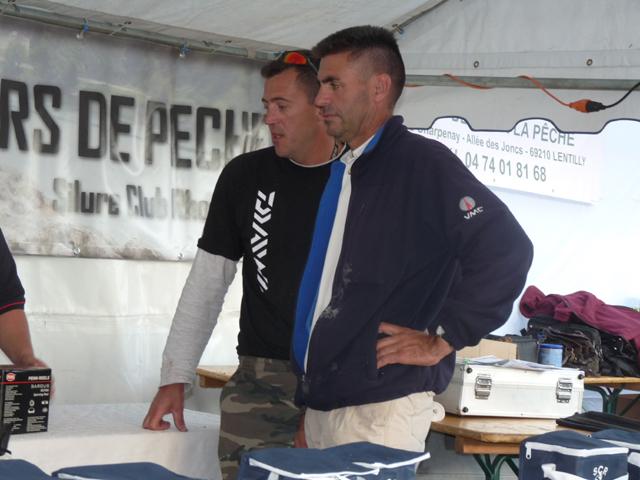 Compte rendu du concours silure du 15 septembre 2012 Conco130