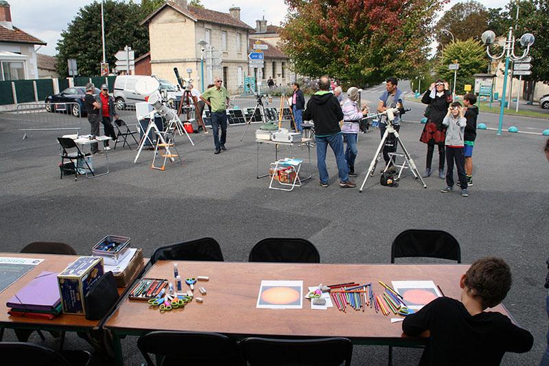 FESTIVAL DE LA SCIENCE samedi 6 octobre à St Médard d'Eyrans (33) 2018-164