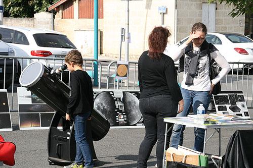FESTIVAL DE LA SCIENCE samedi 6 octobre à St Médard d'Eyrans (33) 2018-169