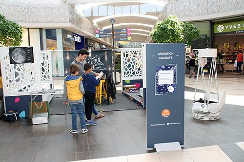 A LA DÉCOUVERTE DE L'ESPACE à Auchan Lac samedi 13 avril 2019 2019-041