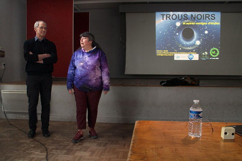 """CONFÉRENCE : """"Trous noirs et autres vestiges d'étoiles"""", samedi 7 mars 2020 2020-072"""