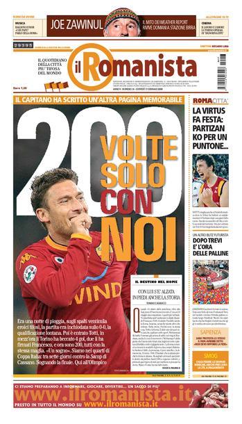 Le quotidien Il Romanista © - Page 2 Rm170110