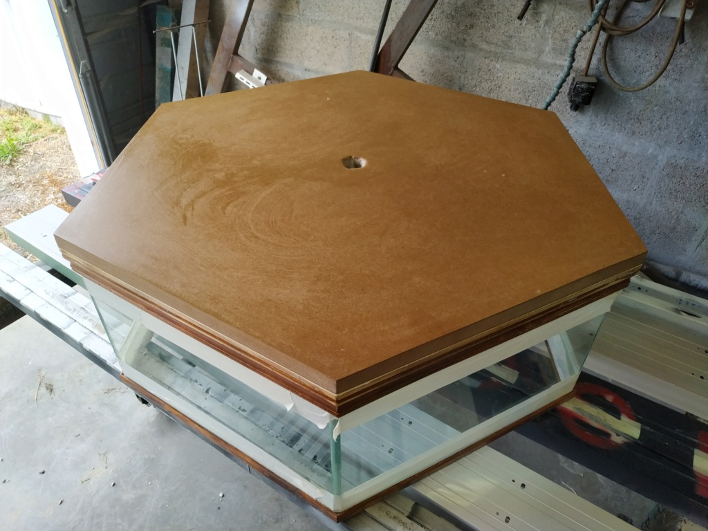 Restauration Table basse 1210
