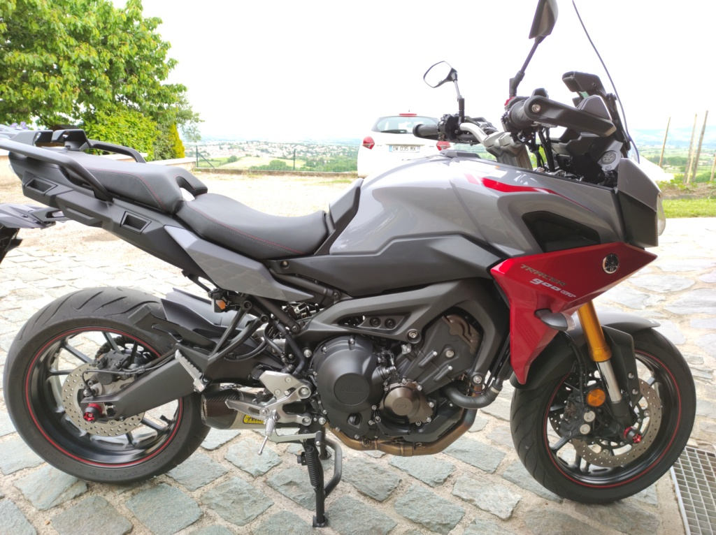 ma nouvelle monture tracer 900 GT 2019 Img_2010