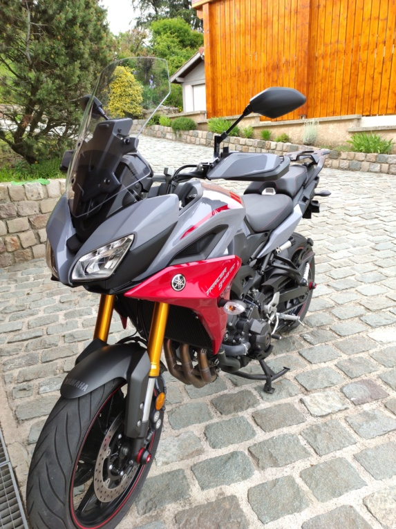 ma nouvelle monture tracer 900 GT 2019 Img_2012