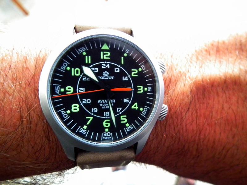 vostok - De la qualité des montres russes Dscf2011