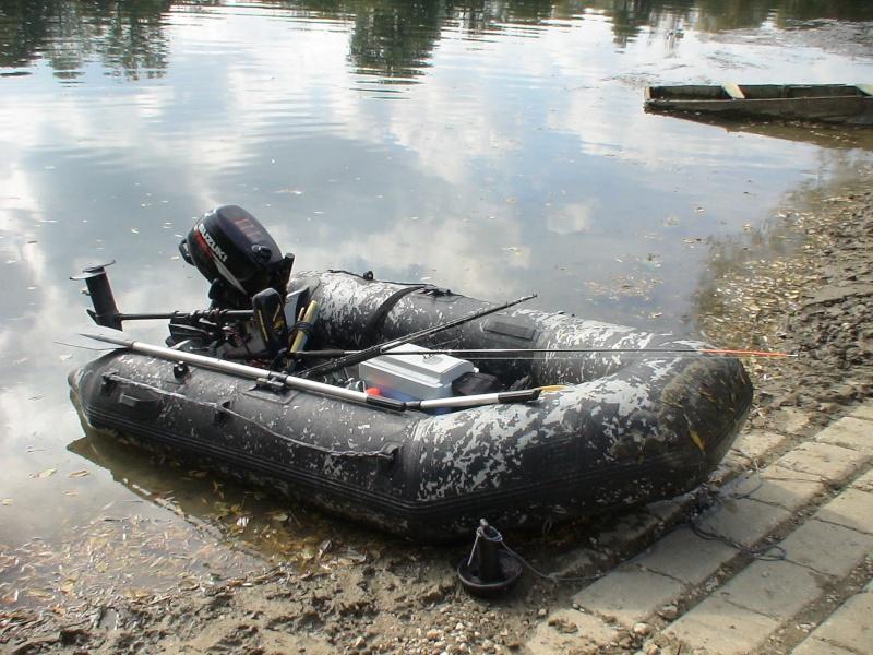 "Mon ""Carp'Boat"" / ""Silur'Boat"" FunYak 3.50 Dsc01511"
