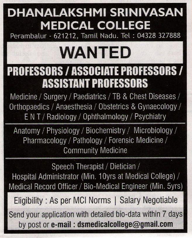 Dhanalakshmi Srinivasan Medical College Scan0021