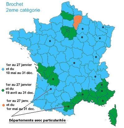 Carte de France ouverture brochet et sandre 2008 Carte_10