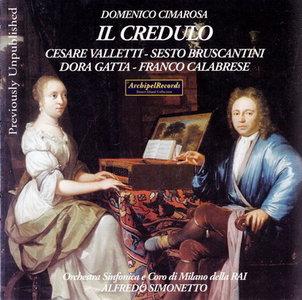IL CREDULO Domenico Cimarosa 08305810
