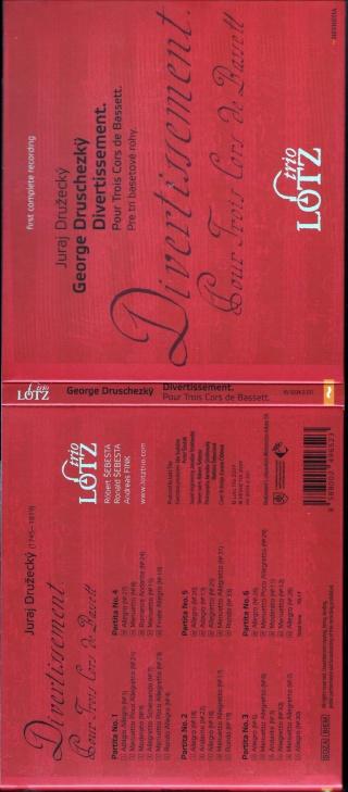 Georg Druschetzky ou Jiri Druzecky (1745-1819) Cover11