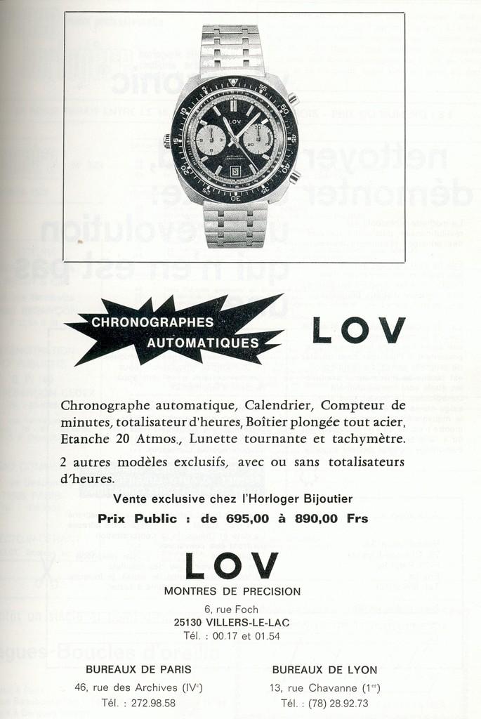 Une LOV ESPADON vintage de plongée: qui connait ? Lovbur10