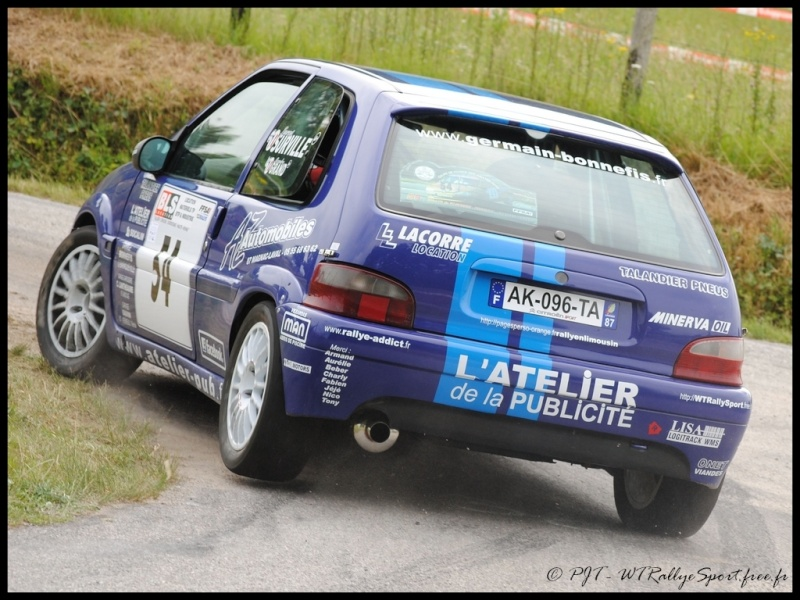 Laurent SURVILLE / Alexandra GRAND - CITROEN Saxo A6 Wtrs-s33